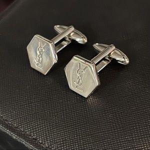 ✨Auth - YSL Polished Cufflinks Set